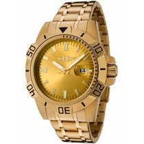 Invicta Gold Plated Stainless Steel
