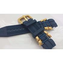 Pulseira Invicta Bolt Zeus Azul Completa