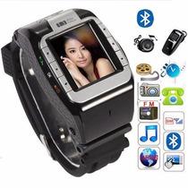 Relógio Celular N388 Desbloqueado Com Câmera E Bluetooth Mp3