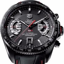 Relógio Tag Grand Carrera Rs2 Calibre 17 Pulseira Em Couro