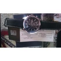 Relógio Tommy Hilfiger Watches Masculino Couro Preto Socia