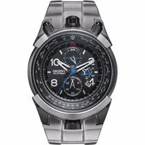 Relógio Orient Flytech Titânio Mbttc008 P2gx Nf E 1 Ano Gar.