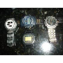 Lote Relógios Raros Anos 80 Citizen Promaster Casio G-shock
