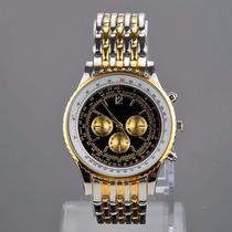 Relógio Rosra Importado De Aço Barato Masculino
