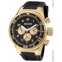 Relógio Magnum Cronógrafo Ma34012p Frete Gratis