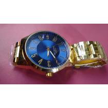 Relógio Quiksilver Dourado
