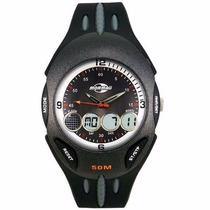Relógio Mormaii Unisex Anadigi Yp2164/8p Esportivo