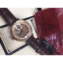 Relógio Patekk Skeleton S/caixa 1 Ano Garantia