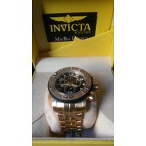 Invicta Sea Hunter Original Banhado Ouro 18k Mod: 10763