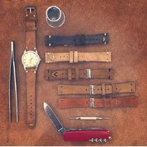 Pulseira Em Camurça Raw&co Para Rolex E Relógios Vintage