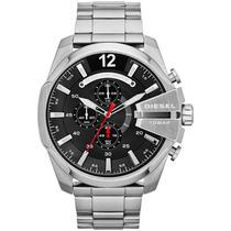 Relógio Diesel Dz4308 Prata Preto Garantia Sedex Gratis