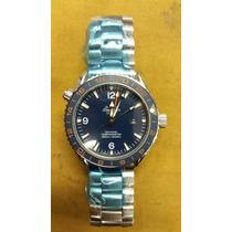 Relógio Seamaster Gmt 007 Qos - Edição Limitada - Automático