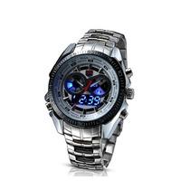 Relógio Importado Tvg Aço Inoxidável Analógico-digital