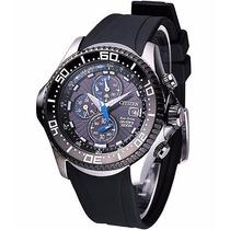 Relógio Citizen Aqualand Bj2110-01e Cal. B740 Scuba Diver