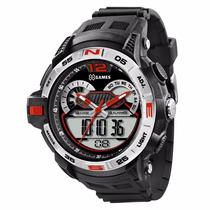Relógio X-games Anadigi Xmppa146 - Promoção - Garantia E Nf