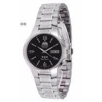 Relógio Orient Automático Aço Masculino 469ss001 Calendário