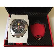 Relógio Ferrari Scuderia Red Cronômetro - Original