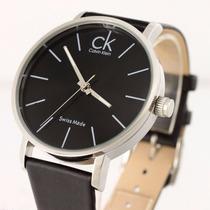Relógio Calvin Klein Masculino K7621107 Pulseira De Couro