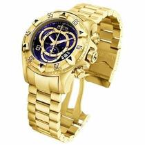 Relógio Invicta 6469 Excursion Dourado 1 Ano Garantia