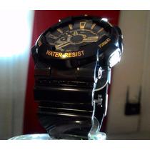 Relógio Shock Resist Ga 110 Sport -serie Ouro-sanda