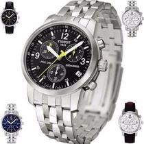 Relógio Masculino Tissot Prc200 Caixa/ Manual Garantia 1 Ano