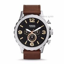 Relógio Fóssil Jr14752pn + Brinde + Garantia De 2 Anos + Nf.