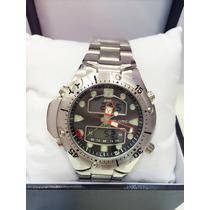 Relógio Masculino Atlantis Original Pulseira De Aço