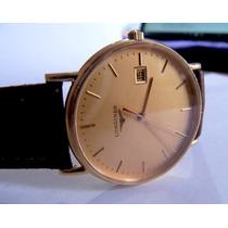 Relógio De Pulso Longines De Ouro 18k Quartzo Original