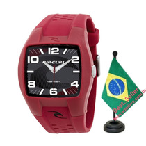 Relógio Rip Curl Pivot Dark Red Maroon Bordo
