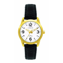 Relógio Dourado Feminino Lince Orient Lrc4061s Nota Fiscal