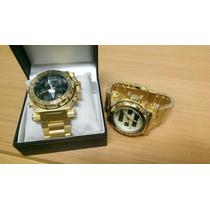 Relógio Masculino Ouro Diversos Modelos Luxo