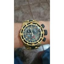 Relógio Invicta Bolt 5630 100% Original Plaqueado 18k 50mm