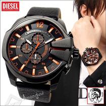 Relogio Diesel Dz4291 Dz4283 Mega Chief No Brasil Original