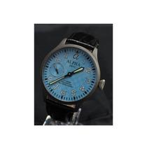 Relógio Piloto Corda Manual Alpha