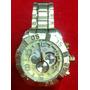 Relógio Atlantis Analogo A3361 Aço Dourado Original