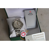 Relogio Swiss Military, Chronograph, C/ Caixa,manual. Troco
