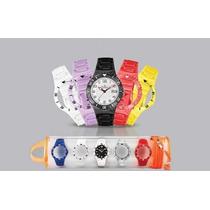 Relógio Champion Watch 5 Pulseiras Com Calendário