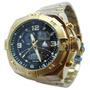 Relógio Dourado Analógico Digital Da Marinus Mesmo Atlantis