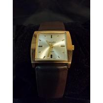 Relógio Suiço Sametic, Caixa Quadrada, Corda Manual, Anos 60