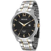 Relógio Seculus Masculino 28547gpsvba1