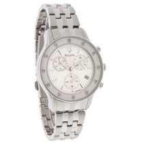 Bulova Diamante Chronograph Watch 96r165