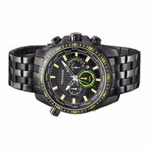 Relógio Technos Masculino Chronógraph Aço 10 Atm Os20hd/1y