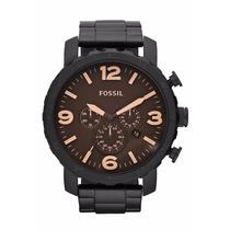 Relógio Masculino Fossil Nate -jr1356 ( Rev.autorizado)