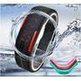Relógio Led Digital Touch Screen, Bracelete, A Prova D