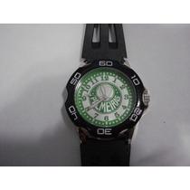 Relógio 10 Por R$ 56 Time Futebol Palmeiras Novo, Lacrado