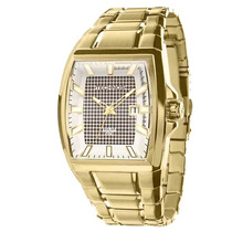 Relógio Technos Masculino Dourado Classic Solar As37ac/4b