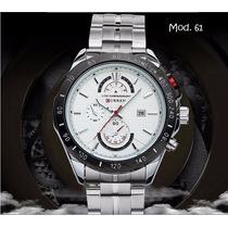 Relógio Curren Jw543 Não Réplica Original Masculino Luxo