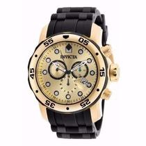 Relógio Invicta Pro Diver 18040 - Dourado Preto Masculino