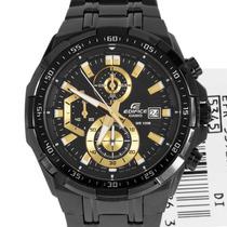 Relógio Casio Efr539bk Lindo Original Frete Grátis