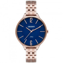 Relógio Orient Frss0008 D2rx Feminino Dourado Rosê- Refinado